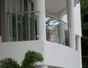 Home Renovation Contractor Sensibuild London Ontario Deck Builder Glass Railing Image
