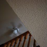 popcorn ceiling header